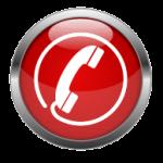 telephone symbol button