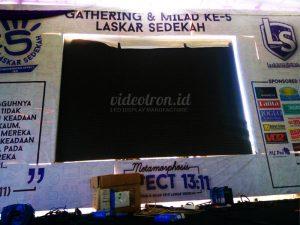 Rental-videotron-indonesia-event-milad-laskar-sedekah