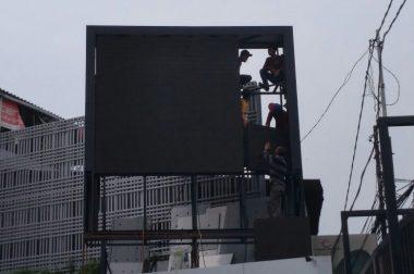 Peninggian Videotron di Protera Protection Jakarta