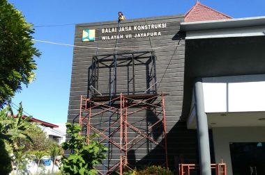 Lanjutan Proyek Papua, Balai Jasa Konstruksi WIlayah VII Jayapura